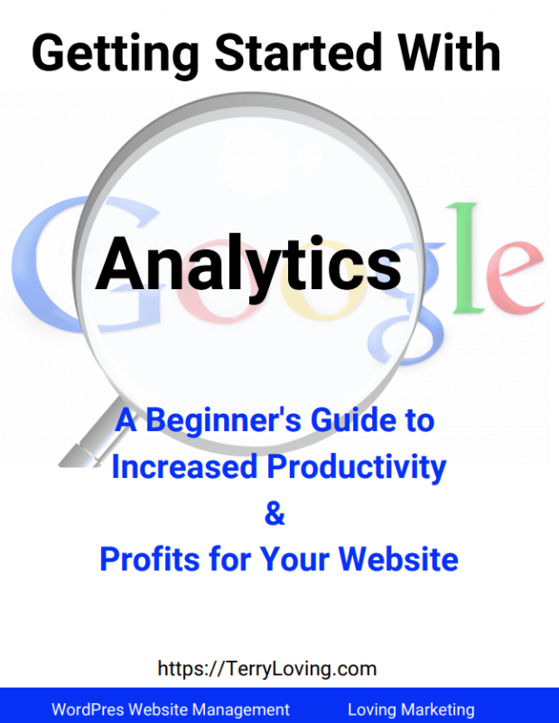 Google Analytics course cover